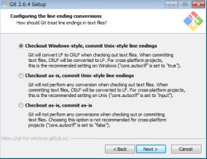 Gitをインストールしてコマンドプロンプトからコマンドを打つ