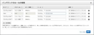 AWS VPC上のパブリックサブネット内にNATインスタンスを作成する