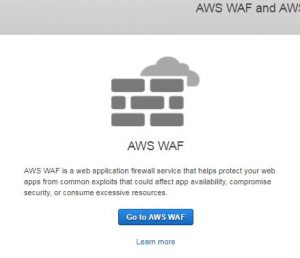 AWS WAF and AWS ShieldでWAFの設定をしてみる